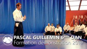 Pascal Guillemin en formation Démonstration, 2019